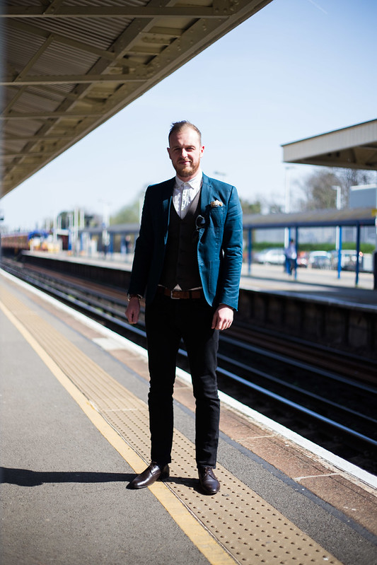 Street Style - Richard, Woking Station
