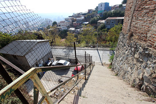 steep cerro polanco stairs