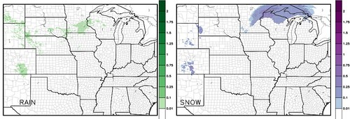HRRR Precip Type Accumulation
