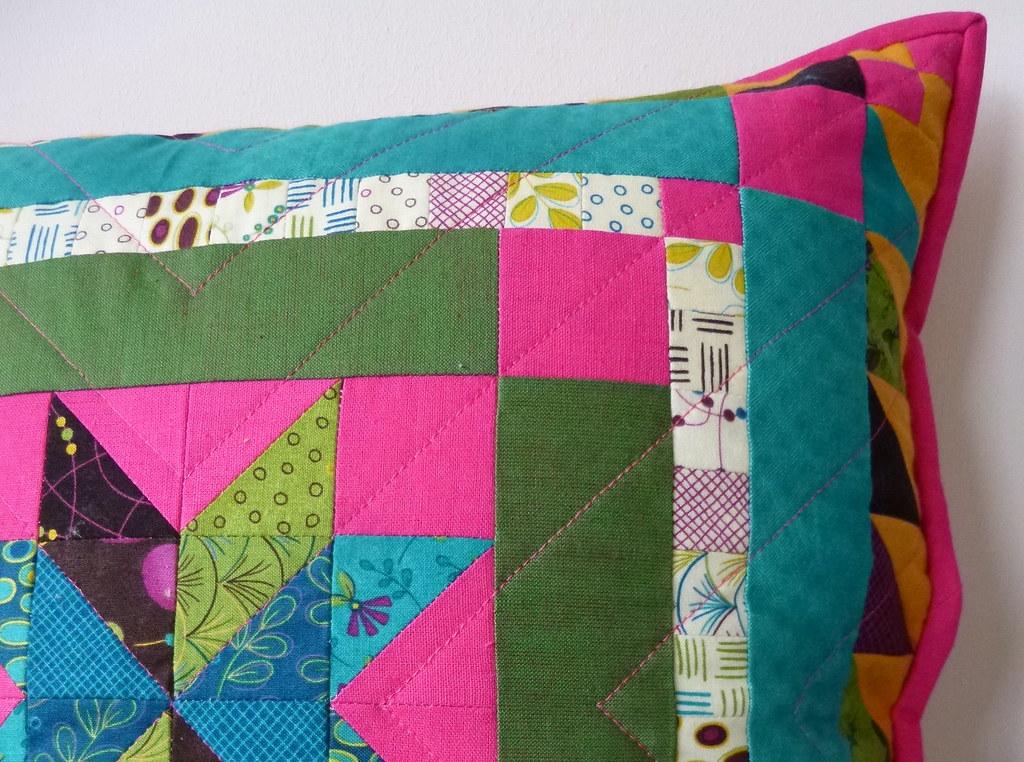 Mini Charm Medallion Cushion by fabricandflowers | Sonia Spence