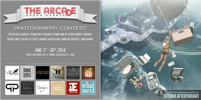 The Arcade Photography Contest - June, 2014