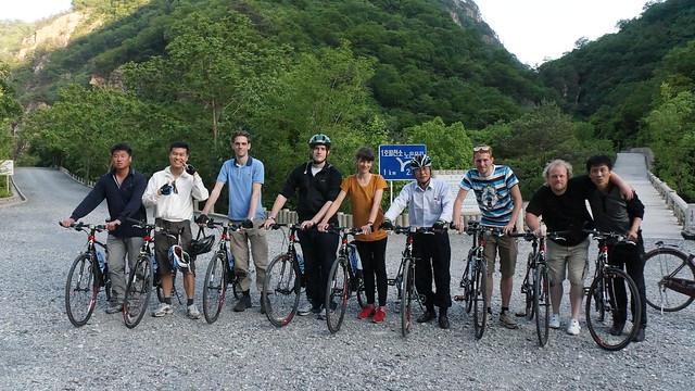 North Korea Bike Tour new Ulim waterfalls