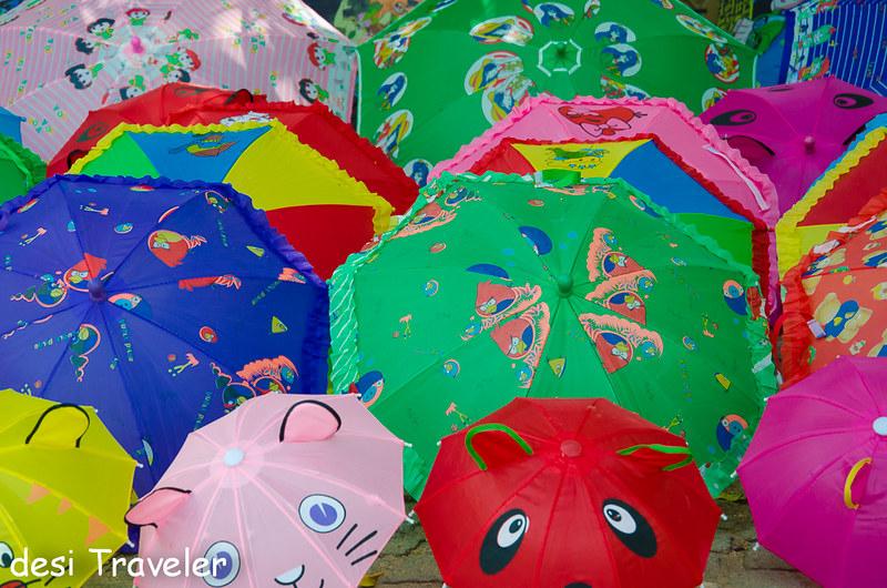 Umbrellas shopping kerala