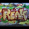 Reak #graffiti #graffitiwall #cambridge #wallatcentralsquare #bostongraffiti