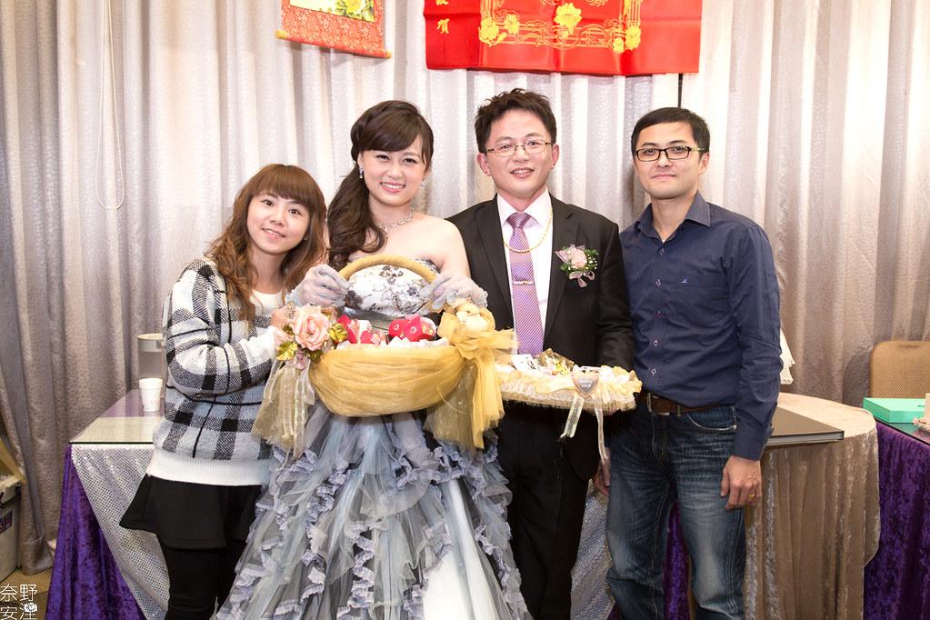 台南婚攝-繼中&佳芸-迎娶午宴 X 東東宴會式場-東嬿廳 (96)
