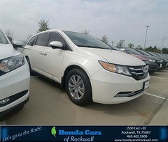 Congratulations John on your #Honda #Odyssey from Terry North at Honda Cars of Rockwall!