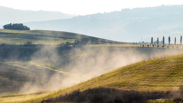earth is breathing - Val d'Orcia, dintorni di Pienza