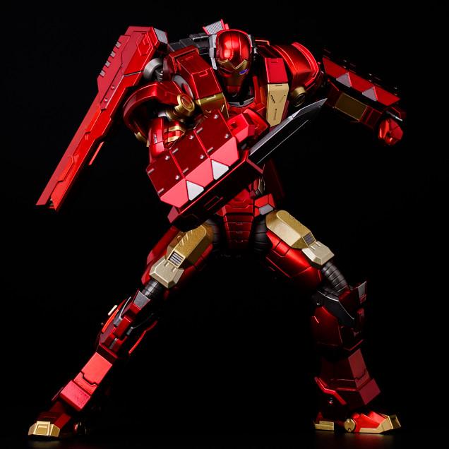 千値練 - RE:EDIT 鋼鐵人第11彈:模組化裝甲 電磁砲 & 震動刀 MODULAR IRONMAN W/Plasma Cannon & Vibroblade