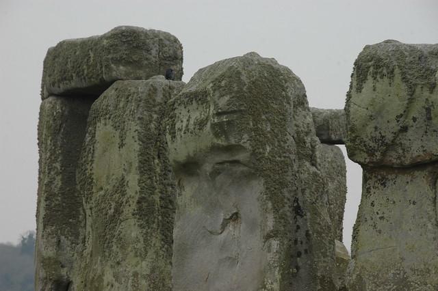 Stonehenge Upright Sarsen Stones on the North Side