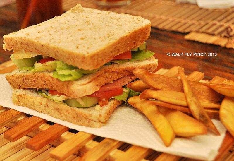 Clubhouse Sandwich, Sagada, Philippine Cordilleras
