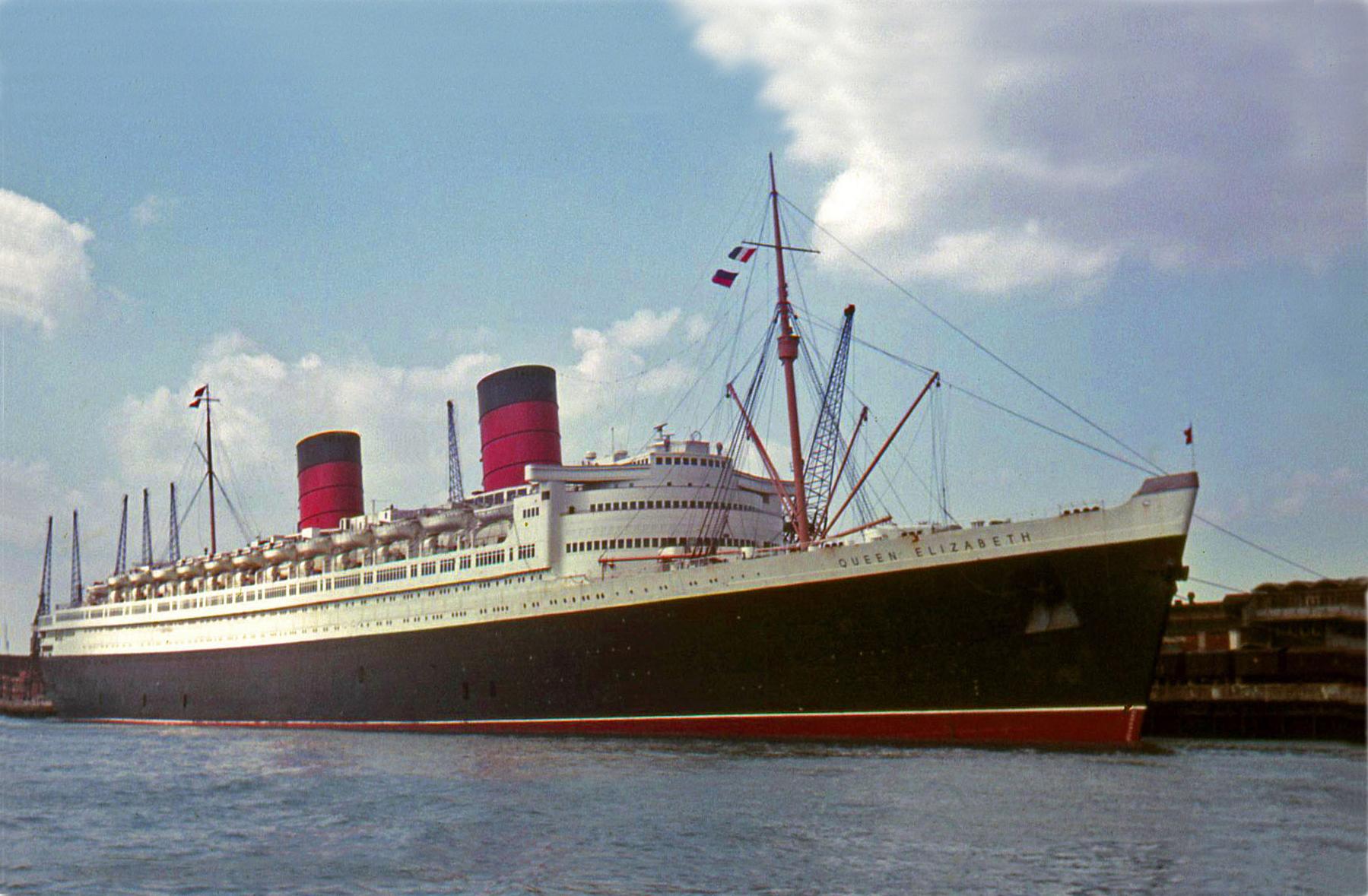 Rms Queen Elizabeth Rms Queen Elizabeth Southampton 14