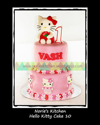 Norie's Kitchen - Hello Kitty Cake 10 by Norie's Kitchen