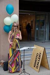 Karla Sax at Kimoto Gallery, ArtWalk South Granville