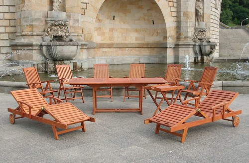teak outdoor patio furniture dining set