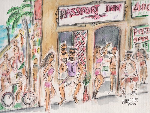 WHO REMEMBERS PASSPORT INN IN MANHATTAN BEACH by roberthuffstutter