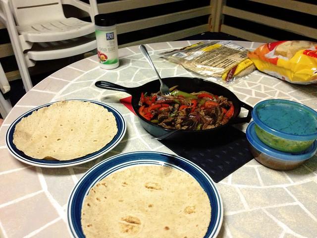 Fajita Dinner 1