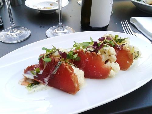 Heimat Frankfurt Thunfisch Sashimi
