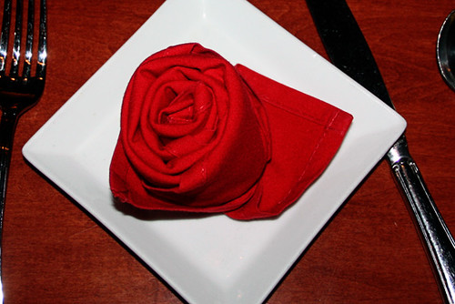 Be-Our-Guest_rose-napkin