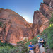 Zion National Park - Hikers by SpreadTheMagic