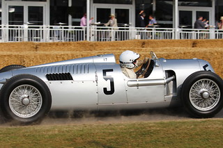 Auto Union Type C at the 2013 Goodwood Festival of Speed