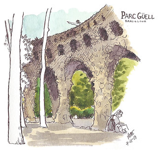 Guell bridge, BCN