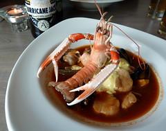 invertebrate(0.0), meal(1.0), fish(1.0), thai food(1.0), seafood(1.0), bouillabaisse(1.0), food(1.0), dish(1.0), cuisine(1.0),