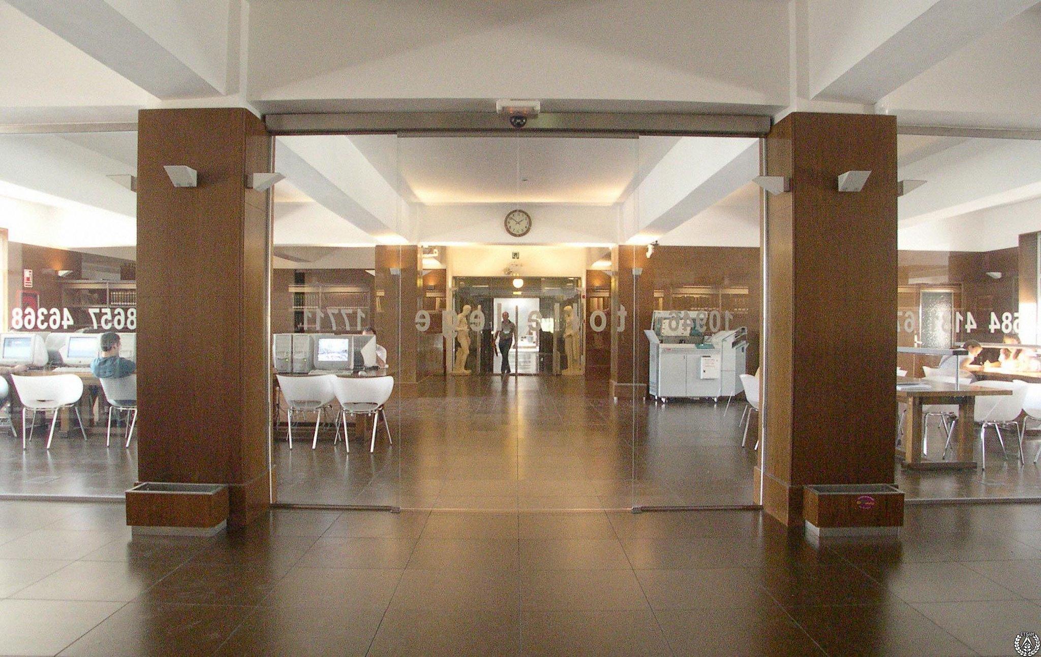 Untitled4 instalaciones de biblioteca ets arquitectura - Ets arquitectura madrid ...
