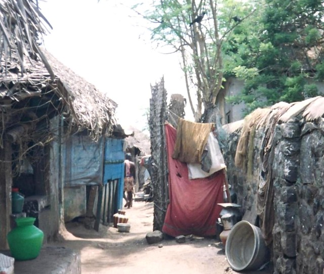A large proportion of households in the village lack toilet facilities. The problem is further aggravated by lack of water. Even when some of the government houses have toilets, they are not used due to lack of water and poor maintenance