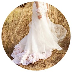Bohemian Tulle Wedding Dress