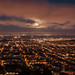 Full moon over San Francisco by Matt Biddulph