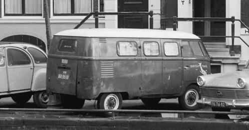 BX-35-31 Volkswagen Transporter bestelwagen 1951