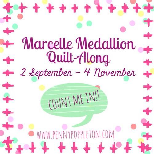 Marcelle Medallion Quilt-Along