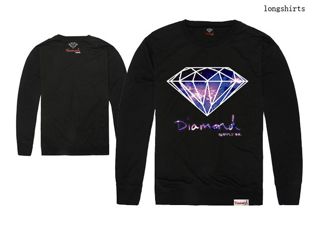 Black Diamond Supply Co Sweater Crew Neck Sweatshirts ...
