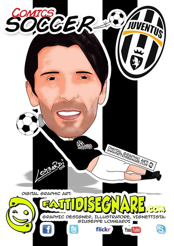 Gianluigi Buffon by Giuseppe Lombardi