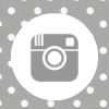 grey white polka dot instagram social media icon