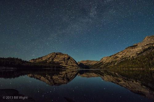Stars Over Tenaya Lake - Yosemite