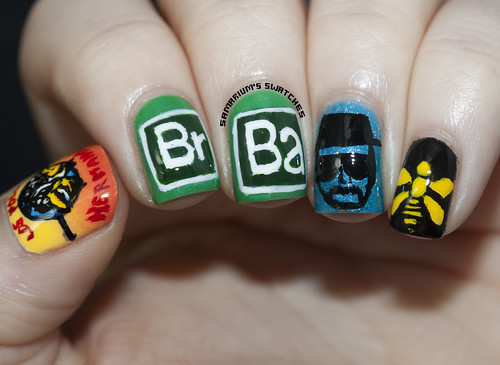 Breaking Bad Nailart (2)