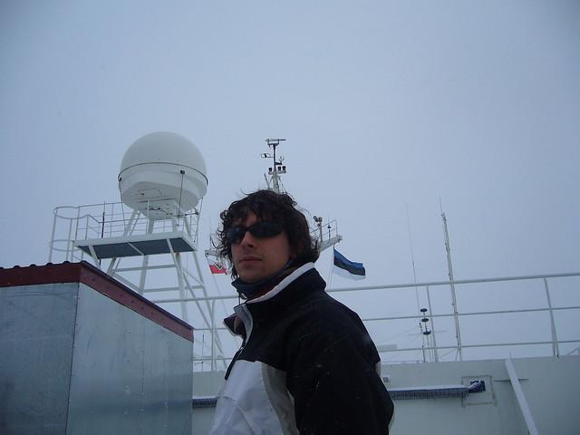 Navegando en invierno