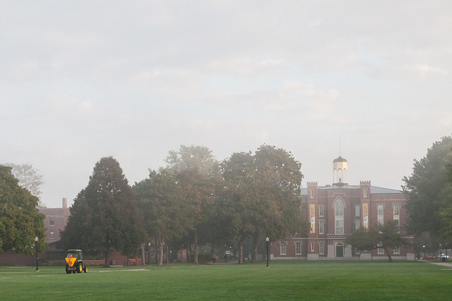 Lawn Work at Old Main