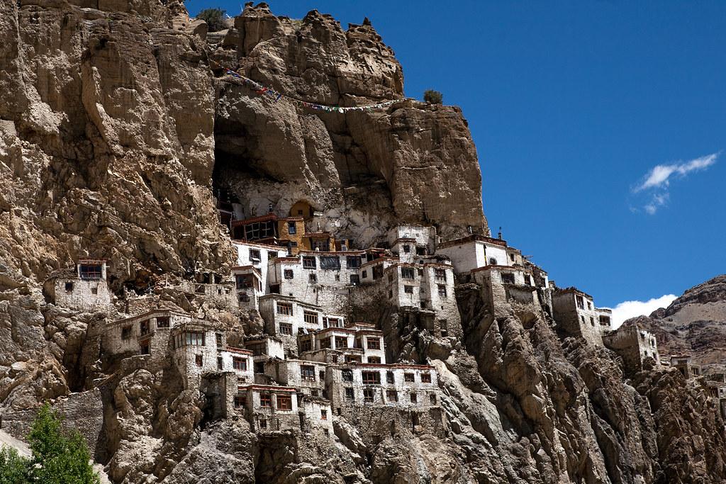 India - The Phuktal monastery