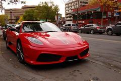automobile(1.0), wheel(1.0), vehicle(1.0), performance car(1.0), automotive design(1.0), ferrari f430 challenge(1.0), ferrari f430(1.0), bumper(1.0), ferrari s.p.a.(1.0), land vehicle(1.0), luxury vehicle(1.0), supercar(1.0), sports car(1.0),