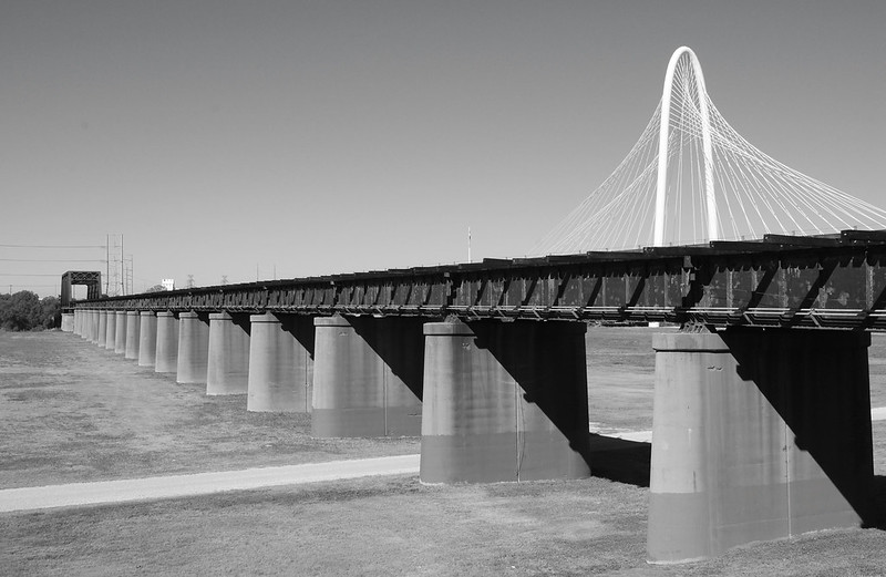 1930 Texas & Pacific Railroad Bridge over Trinity River, Dallas, Texas 1309301028