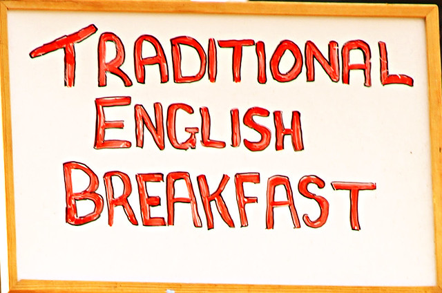 Traditional English reakfast