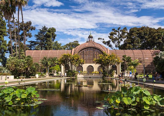 Botanical Garden At Balboa Park San Diego Ca By