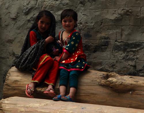 Khaplu girls!