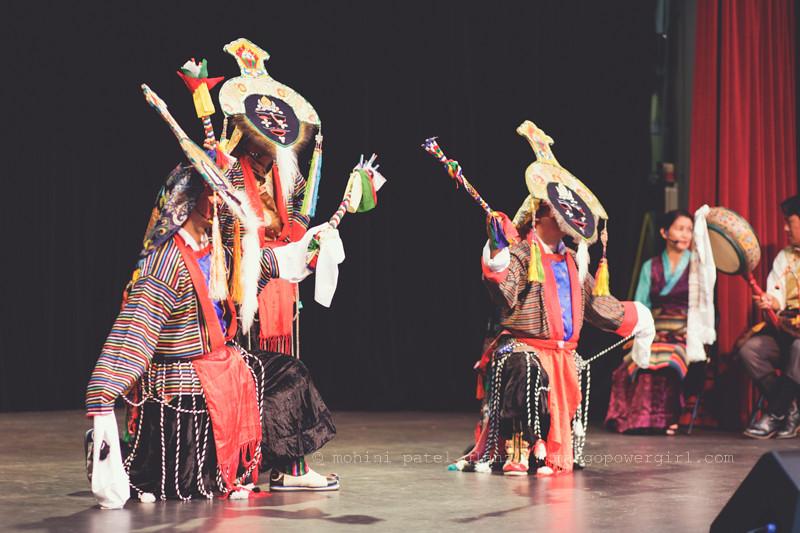 Tibetan Blue Masked Dancers