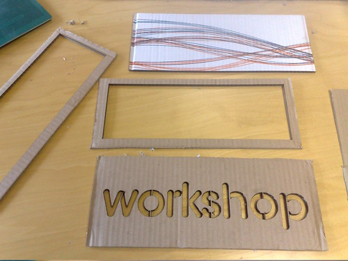 Laser-cutting done