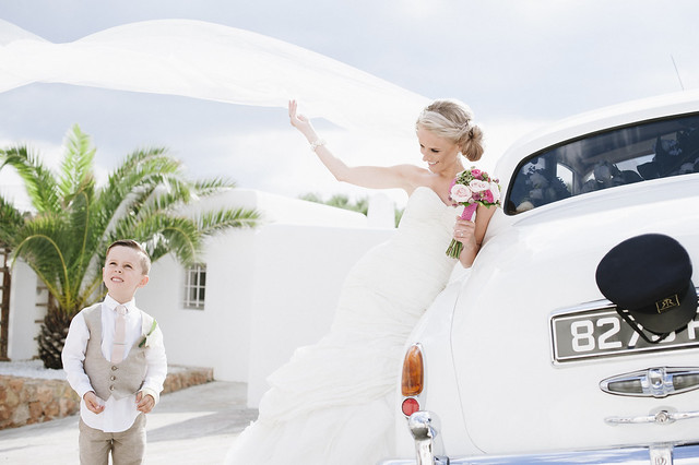 Stacey & Kyle, real Ibiza wedding
