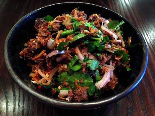 Kachin beef salad