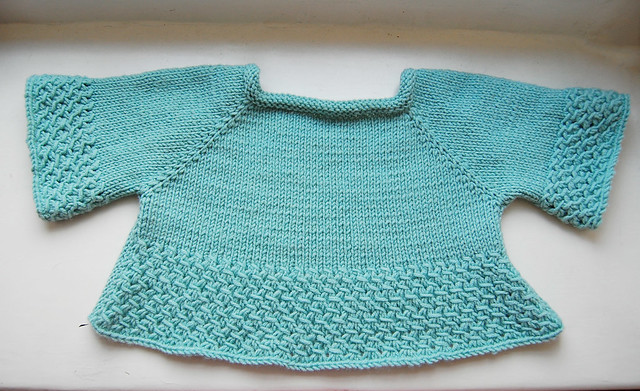 Wisteria Test Knit